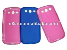 Hot Sale New Matte TPU Cover Case For SamSung i9300 Galaxy S3