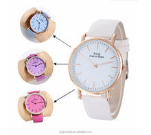Fashion fresh belt watch lady watch candy color changing watch