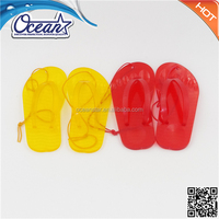 flip flops shape lemon Scented PVC Car Vent Air Freshener