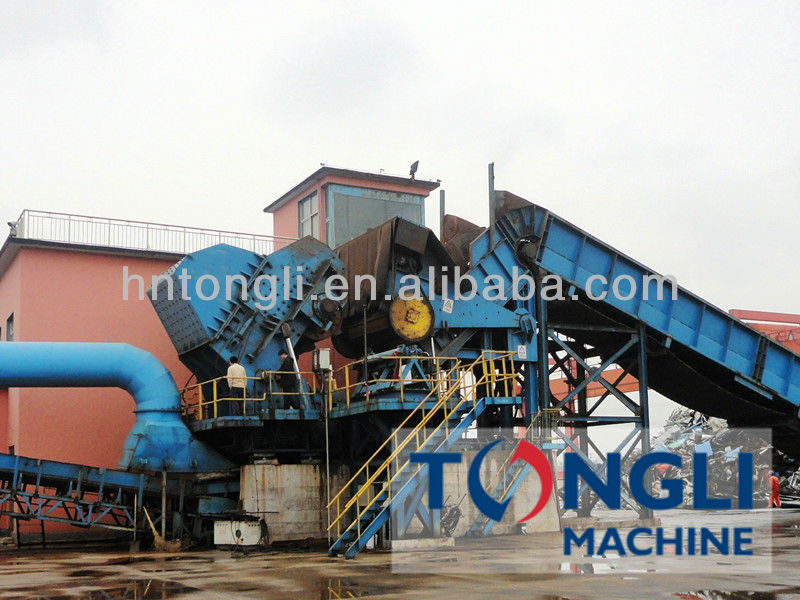 2250 Type Metal Shredder For Recycling