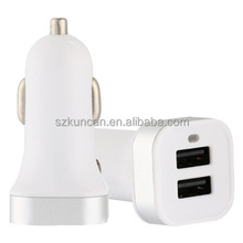 Wholesale 27w Mobile Phone Accessories Laptop Wireless Battery Dual usb Car Charger
