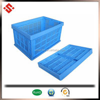 2015 collapsing vegetable plastic folding crate