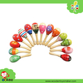 Wholesale Maracas Wooden Music Toy Baby Maracas for sale