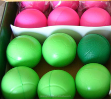 Eco-friendly free stress ball/new design PU soft foam ball