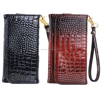 For iphone 6 wallet leather case with smart wake and sleep and rope