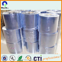 super transparent plastic PVC film hard in roll