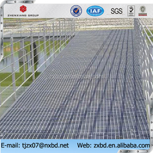 S275 China supplier steel grating catwalk/hot dipped galvanized steel grating