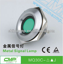 Waterproof cmp 30mm 48 volt led indicator light ip67