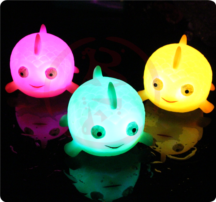 wholesale light up led rubber duck for hot selling