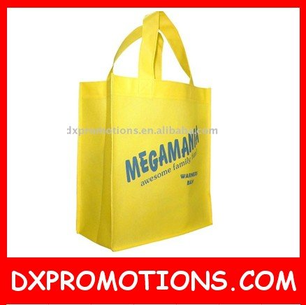 Low MOQ nonwoven shopping bag/Promotional tote bag