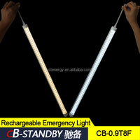Flame retardant plastic led tube when electricity cut integrated type