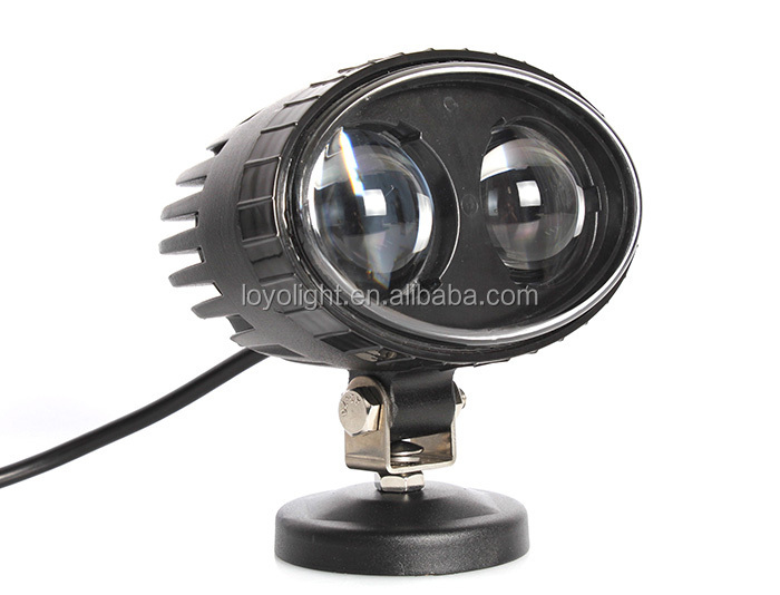 4'' Powerful 10W rechargeable blue point led work light for Offroad
