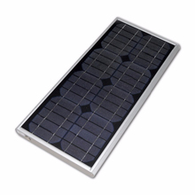 grape led s7 all in one integrated lithium battery solar panel sensor control solar street light