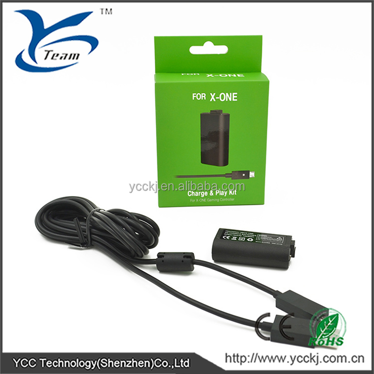 Battery Charger kit for XBOX ONE Rechargeable battery pack for XBOX ONE