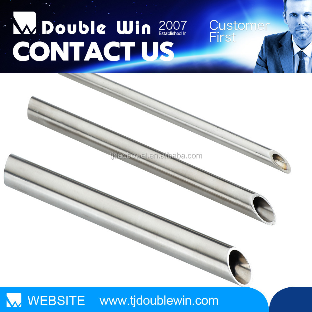 Seamless stainless steel pipe tube construction