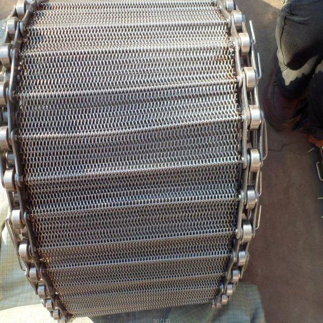 Food Grade Stainless Steel Honeycomb Conveyor Mesh Belt For Food Machinery