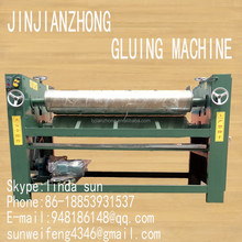 3rollers veneer glue spreader machine/4rollers gluing machine wood machinery