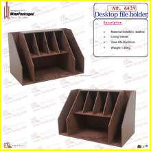 office desk organizer cardboard desktop paper file holder