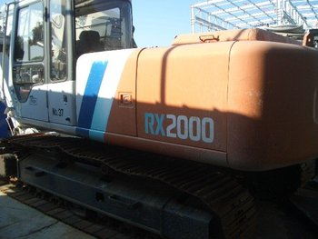 USED RX2000-2 HITACHI LEADERLESS PILE DRIVER