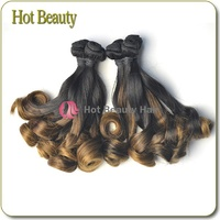 Hot !!! Top Grade 7A Princess Curl Virgin Brazilian Virgin Hair 10""