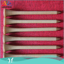 Useful 70mm Tall Colorful Step Wooden Golf Tee