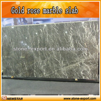 nature stone polished gold rose marble price