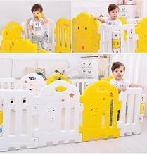 portable playpen for baby ,Free combination baby playpen 8+2 plastic play yard