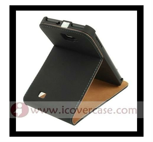 Genuine Leather stand Case for Samsung Galaxy Note N7000 i9220
