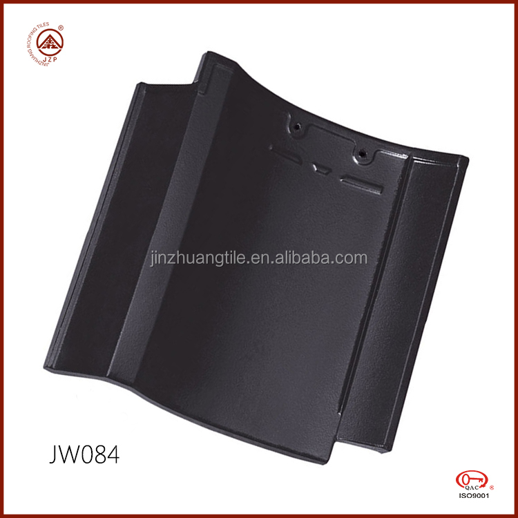 ISO Quality Water proof Japanese Glazed Clay Roof Tile for Villas Roofing