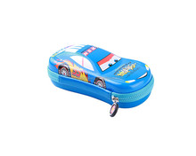 EVA pencil box car stationery case customized for girl boy kids students