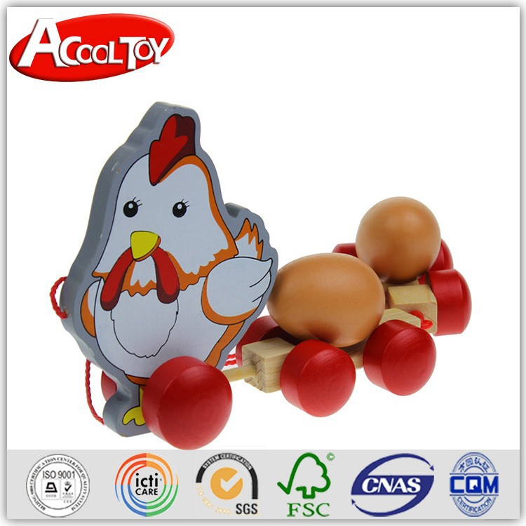 alibaba in india direct factory price cute wooden toy chicken lays eggs