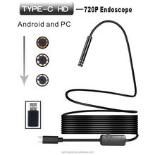 Best Mini Waterproof Snake Flexible Hd 1080P Otg Portable Android Cell Phone Usb Endoscope Borescope Camera