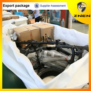 ZNEN MOTOR -2016 Motorcycle export with CKD package gas scooter