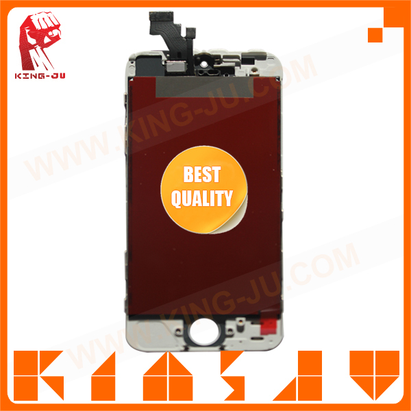 high quality phone accessory for iPhone 5 touch grass mirror screen protector One year warranty