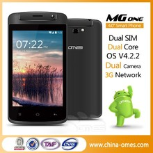 Small Size model OMES MG1 MTK6572 3G Dual Core Dual Sim Android 4.4 Kitkat 4 inch screen smartphone