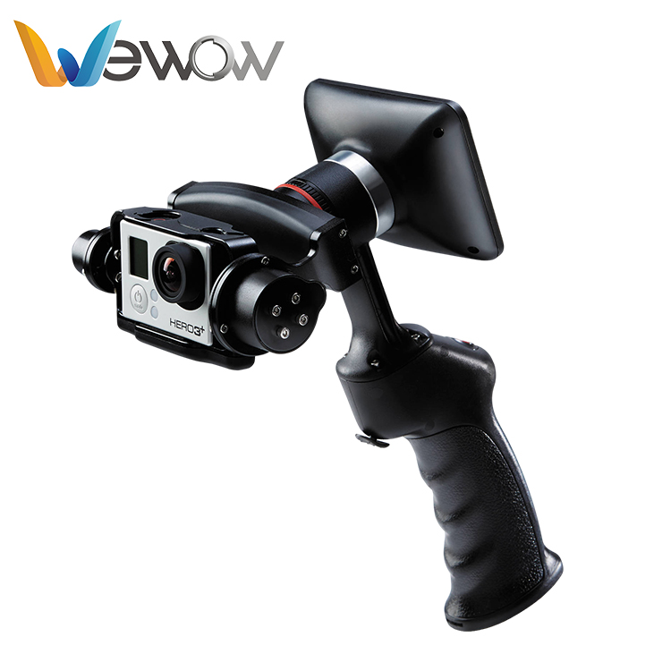 Best selling 100% Original portable 2 axle handheld brushless gimbal stabilization