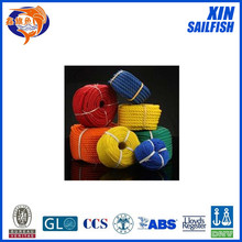color polyethylene rope dia 4mm to 90mm