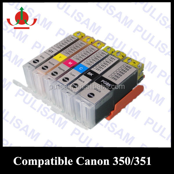 Ink cartride compatible for Canon 550 551 for Canon MG715 one time use