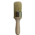 Pure hog bristle paint brushes