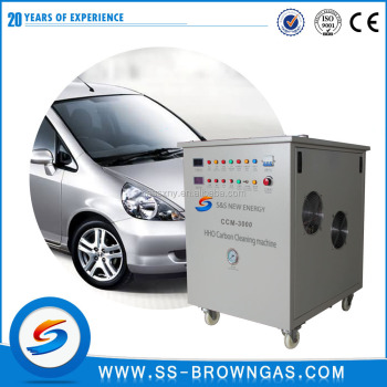 HHO 3000L/H HHO Engine Carbon Cleaning Machine For Car