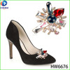 The clutch crystal shoe buckles crystal clip for shoe