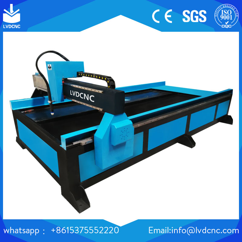 CNC Steel Plate cutter CNC plasma cutting machine for aluminum iron/plasma rotary device cutting metal pipes