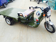 high loading used cargo tricycle with flatbed for goods in china