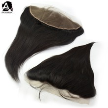 Angelbella 13x4 Human Hair Closure Swiss Ear To Ear Pre Plucked Lace Frontal