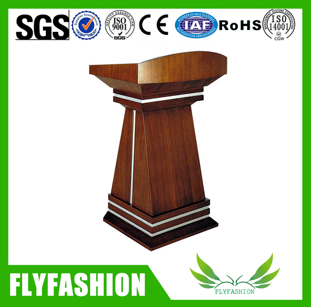 Wooden church podium stand/Fashionable Wood Podium And Lecture Table
