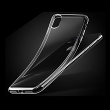 2017 New Cell Phone Case Factory Supply Best Quality 0.6mm Soft Transparent TPU Phone Case for iPhone 8