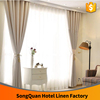 Linen cotton hotel curtain office window complete product