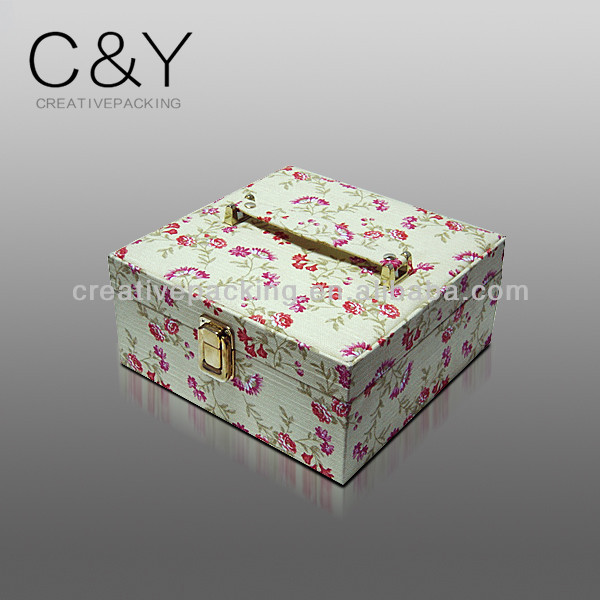 Custom empty cloth gift box of many designs