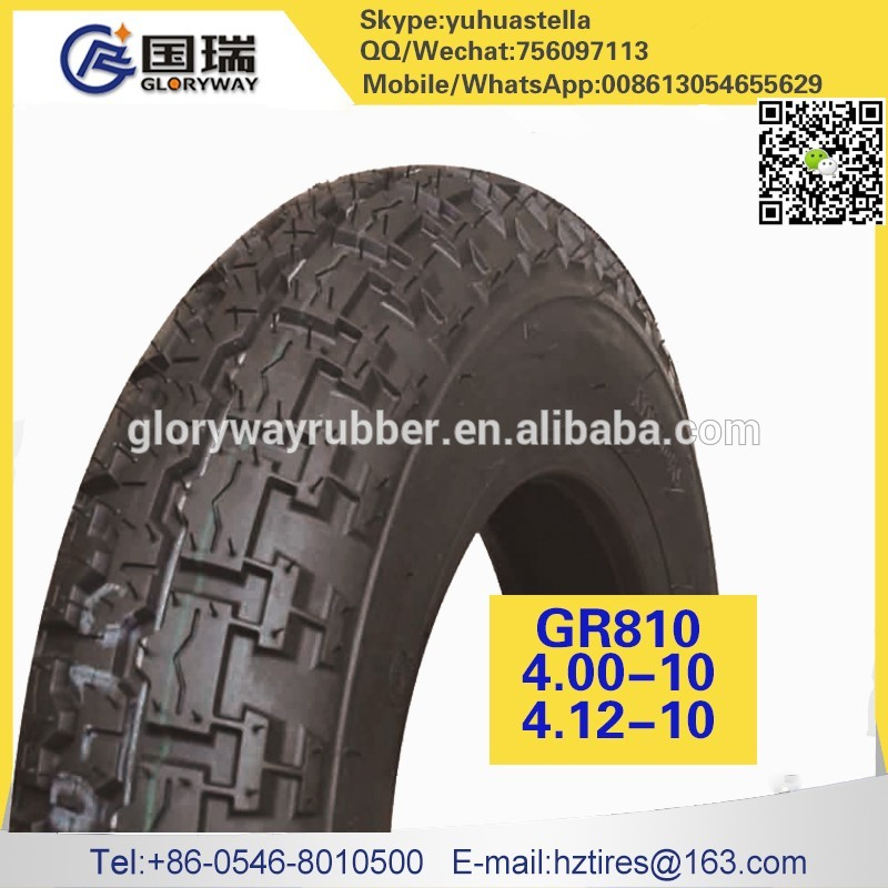 Low price of indonesia motorcycle tyre 4.00-10