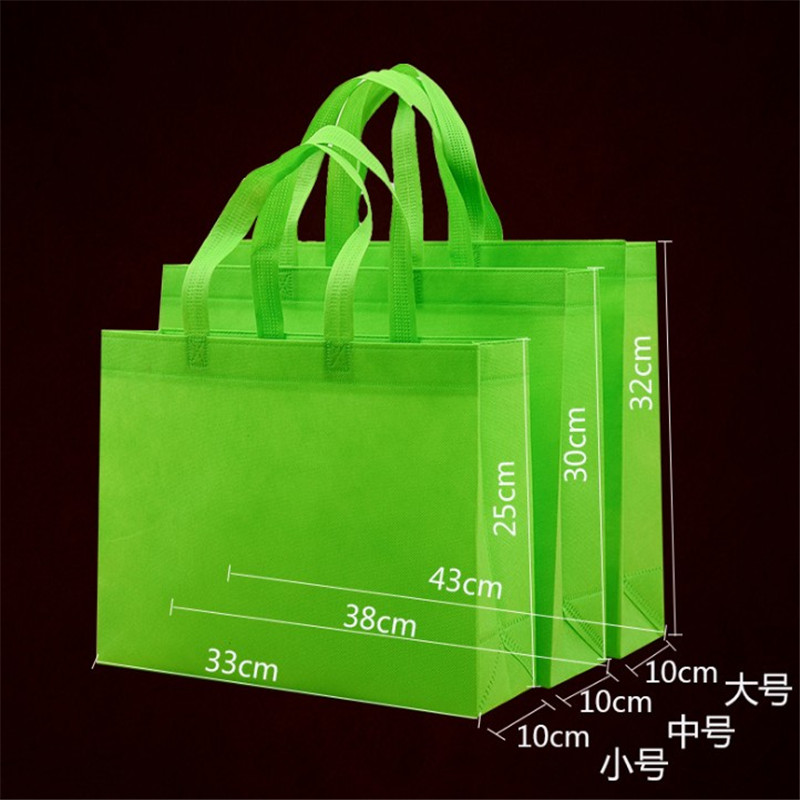Promo non-woven personalized eco shopping bag wholesale